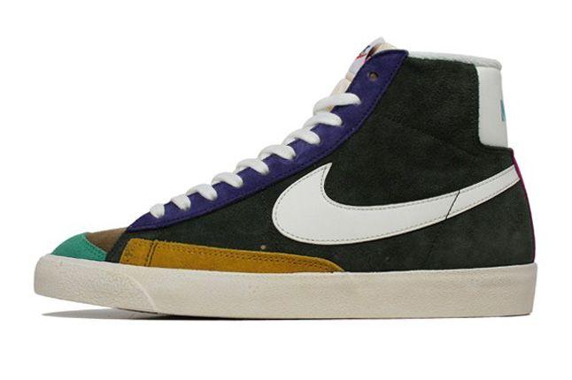 Nike Blazer Mid 77 Vintage Side Profile 1