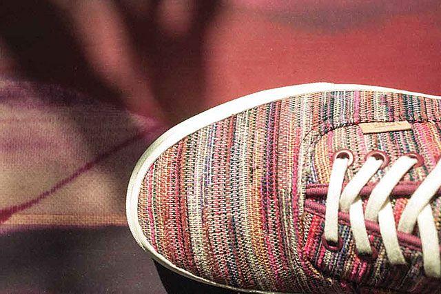 Vans California Collection Italian Weave Material Detail