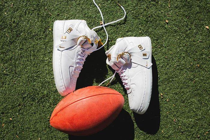 Nike Air Force 1 Mid White Victor Cruz 1