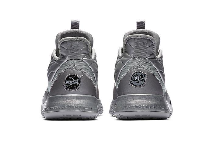 Nike Pg 3 Nasa Reflective Silver Ci2667 001 Heel