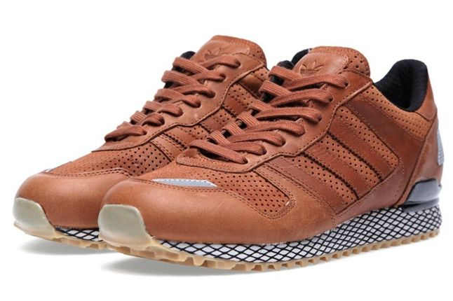 Adidas Originals Zx 700 Gum And Perf Pack Brown Angle 1