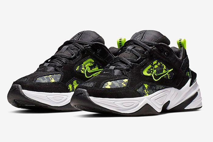 Nike M2K Tekno Pixel Camo Toe