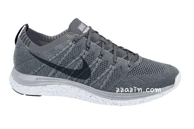 Nike Flyknit Lunar1 Grey 1