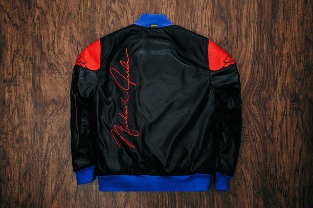 Just Don Air Jordan 2 Pinnacle Bomber Jacket Black 2