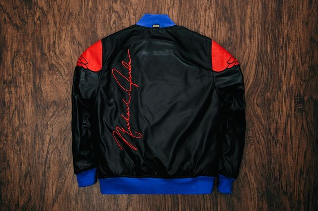 Just Don Air Jordan 2 Pinnacle Bomber Jacket Black 2