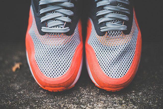 Nike Air Max 1 Breathe Team Orange Toebox