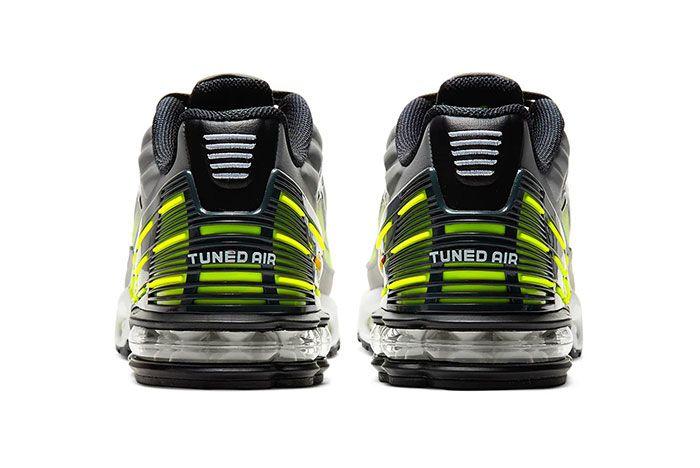 Nike Air Max Plus 3 Lemon Venom Heel