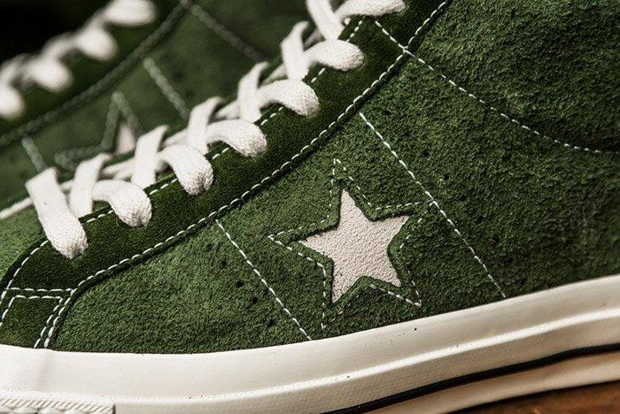 Converse One Star Mid Shadow Green 6