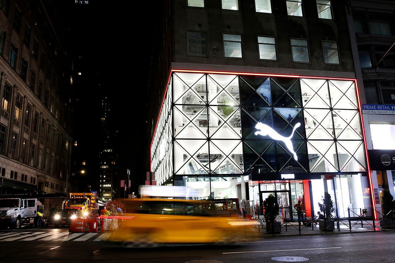 Puma Flagship Fifth Avenue Store Front