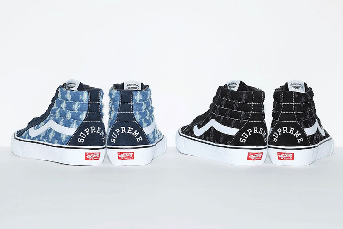Supreme x Vans Hole Punch Denim