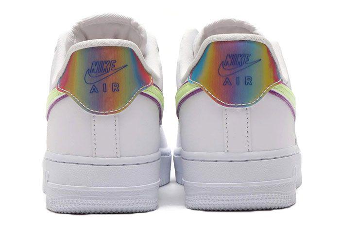 Nike Air Force 1 Low Easter 2020 Cw0367 100 Heel Shot