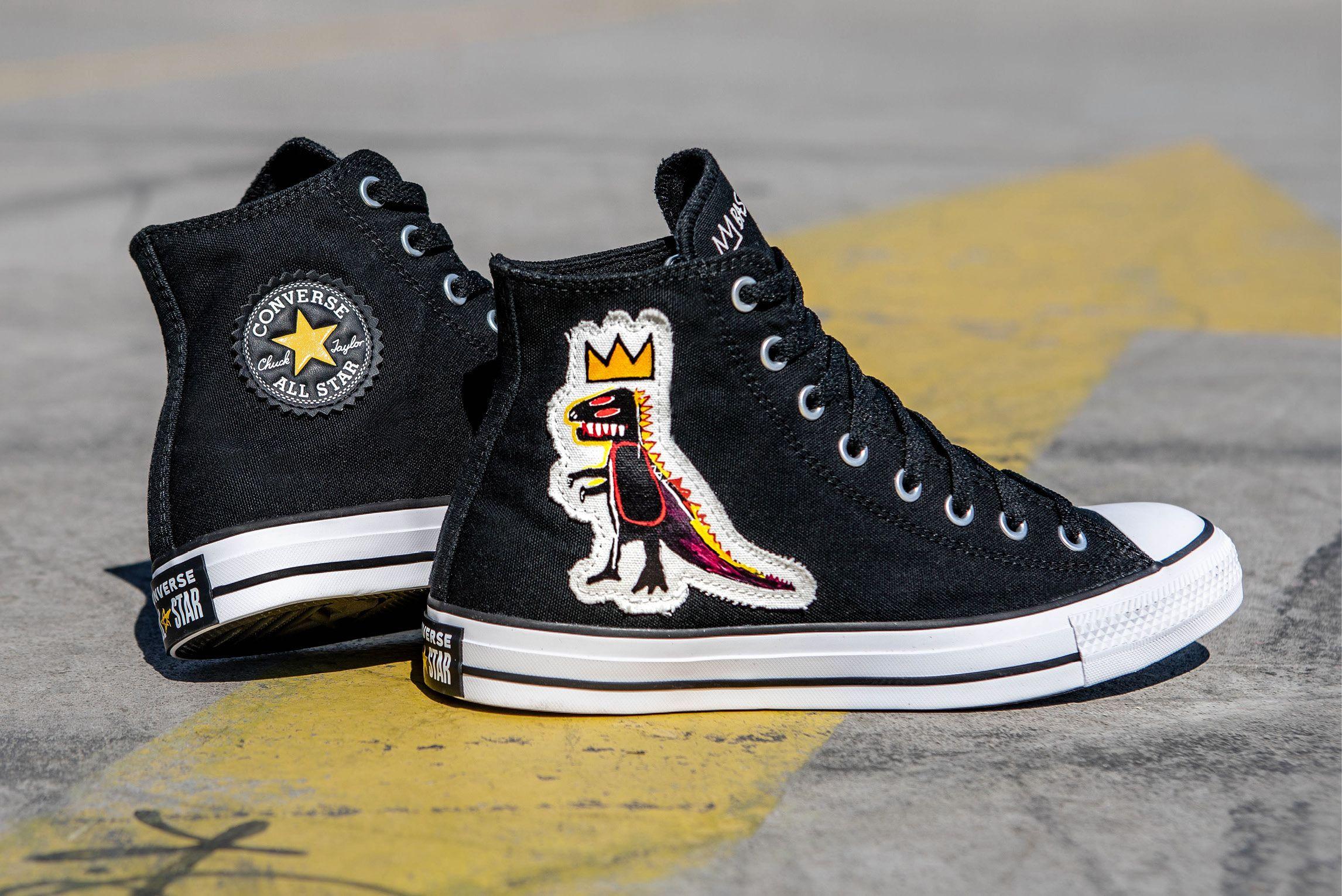 Jean-Michel Basquiat x Converse Chuck Taylor All Star