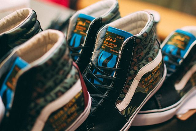 Sbtg X Kadir Warriors Vans Pack 7