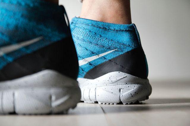 Nike Flyknit Trainer Chukka Fsb Squadron Blue 6