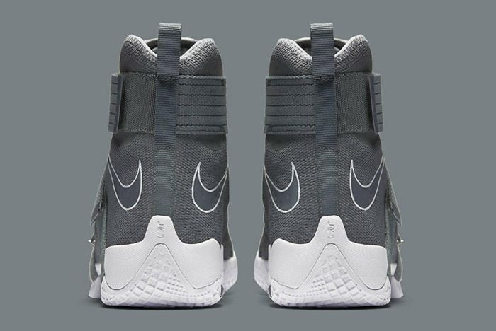 Nikelebron Soldier 10 Cool Grey 1