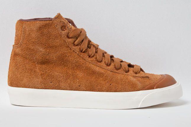 Nike Blazer Mid Ab Hazelnut Side New 1