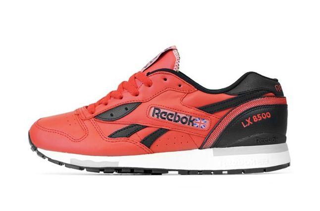 Reebok Lx 8500 Red Paperwhite 5