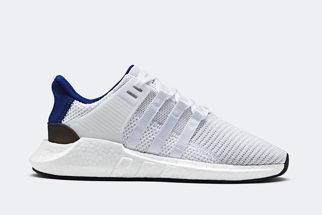 Adidas Eqt Support 93 17 White Blue 1