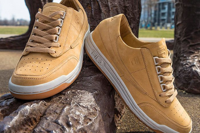 Fila Premium Veg Tanned Leather Pack Classic Tennis 2