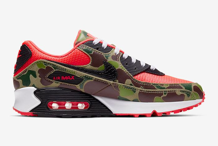 Nike Air Max 90 Reverse Duck Camo Cw6024 600 Release Date Price 2 Official