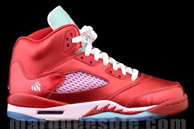 Air Jordan 5 Gs Valentines Day Side Profile 1