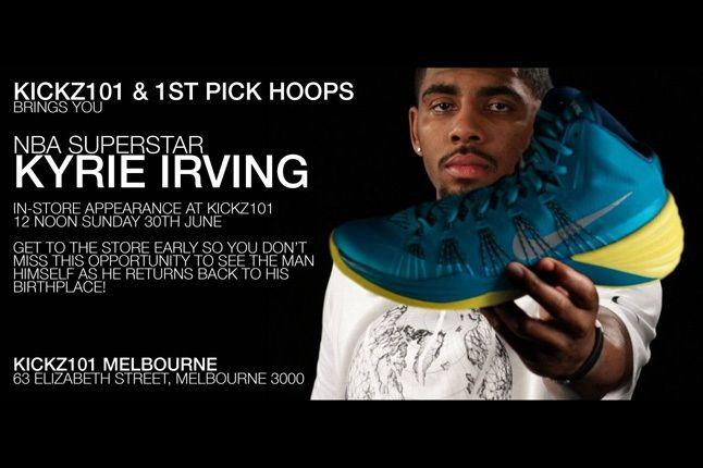 Kyrie Irving Kickz101 Flyer 1