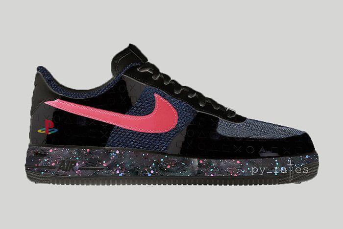 Sony Playstation X Nike Air Force 1 Low 2018 Sneaker Freaker 4