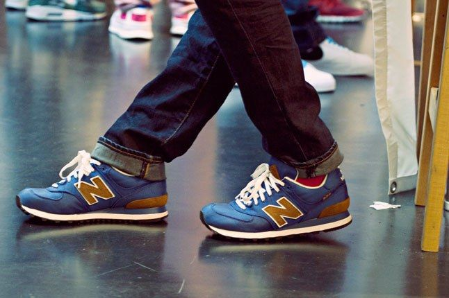 Blue New Balance Sneakers 1