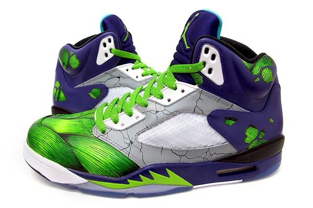 Sekure D Air Smash Jordan 5 Custom 2