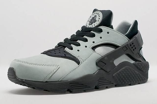 Nike Air Huarache Slate Green Black 1