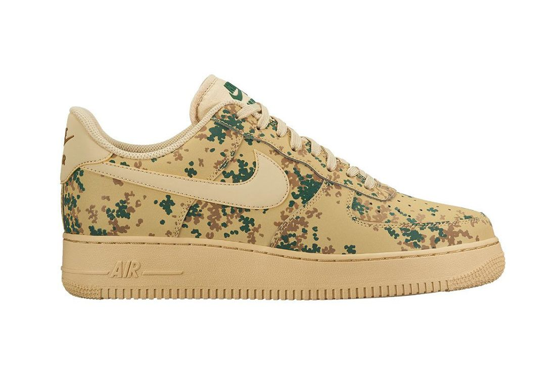 Nike Air Force 1 Beige Camo 1