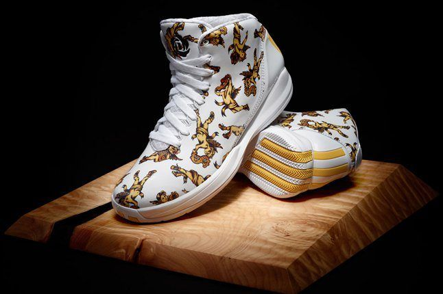 D Rose 3 5 X Jeremy Scott Adidas Originals Pair 1