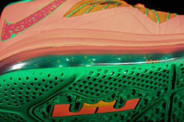 Nike Lebron X Low Watermelon Sole Detail 1
