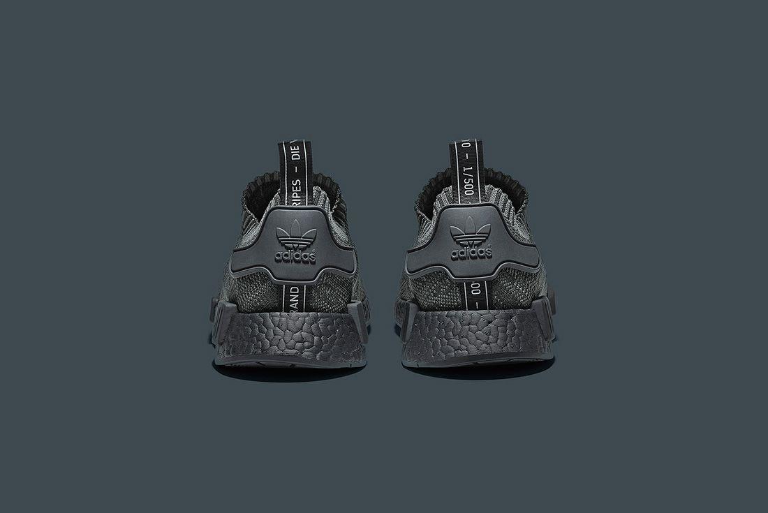 Adidas Originals Nmd R1 Pk ' Pitch Black' 3