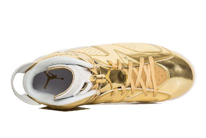 Air Jordan 6 Pinnacle Metallic Gold 2