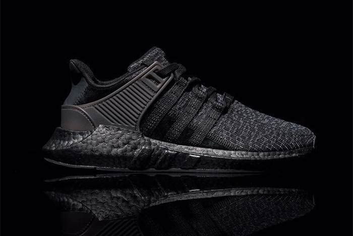 Adidas Eqt Support 9317 Triple Black 1