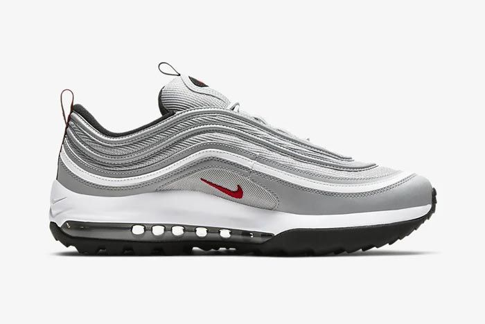 Nike Air Max 97 Golf Silver Bullet Medial