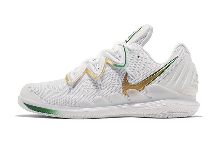 Nike Vapor X Kyrie 5 Wimbledon Release Date Lateral