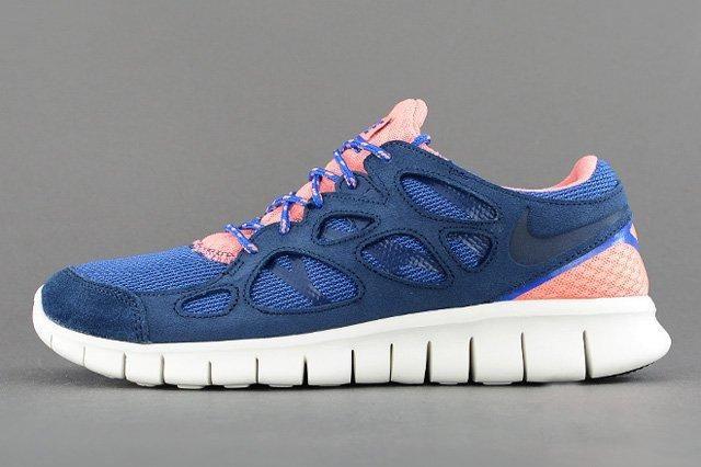 Nike Free Run 2 Brave Blue Atomic Pink 4