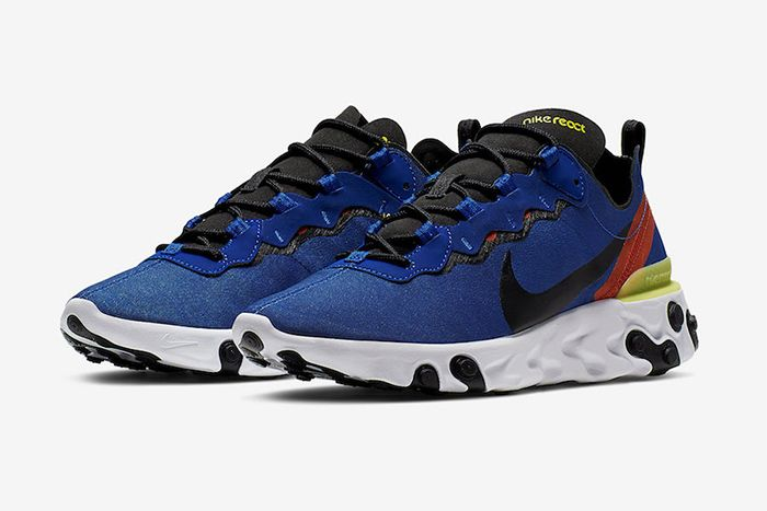 Nike React Element 55 Game Royal Bq6166 403 Release Date Pair