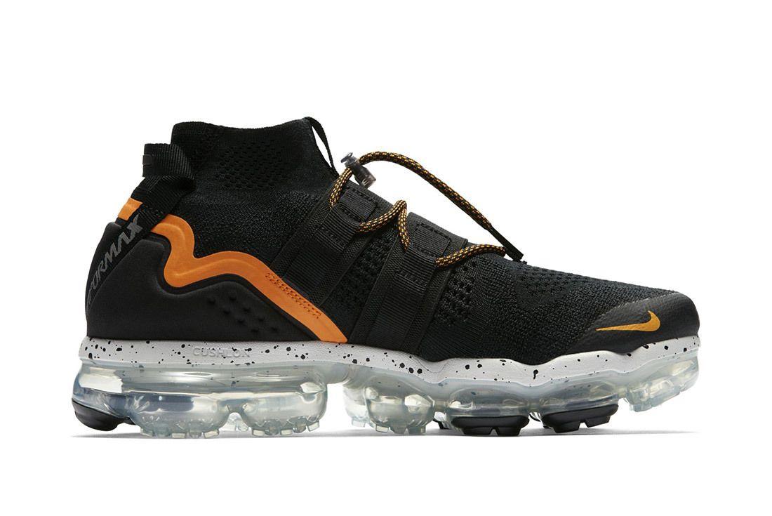 Nike Air Vapormax Utility Black Orange 4