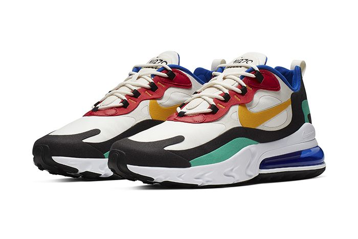 Nike Air Max 270 React Bauhaus Mens Release Date Pair