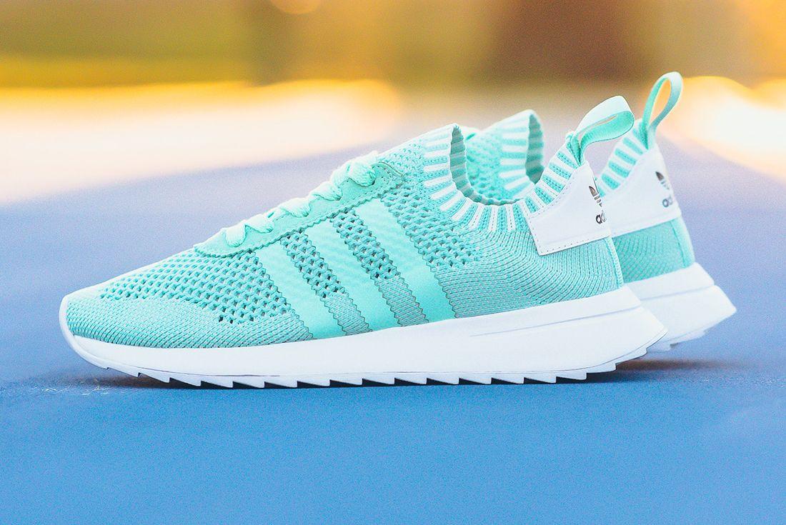 Adidas Flashback Primeknit Wmns Easter Green 2