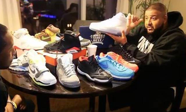 Sneaker Style Profile Dj Khaled 1