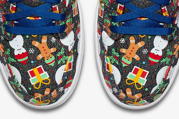 Conceptsnike Sb Ugly Christmas Sweater Dunk Small