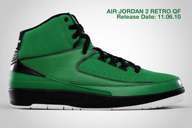 Air Jordan 2 Retro Qf Green 2