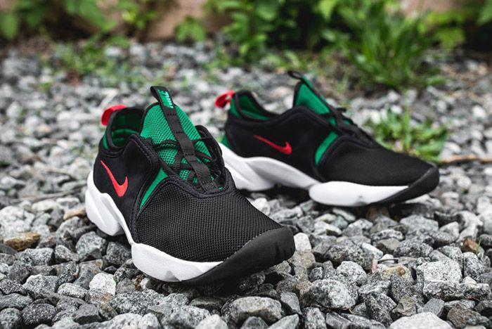 Nike Loden Womens Black Atomic Red Pine Green 4