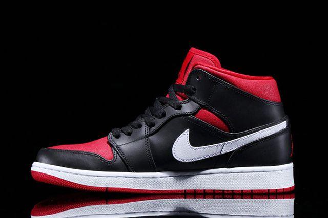 Jordan 1 Black White Red 2