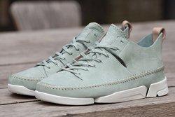 Thumb Clarks Sportswear Trigenic Flex Pale Green 1