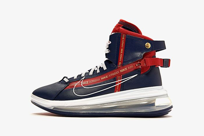 Nike Air Max 720 Saturn Midnight Navy Ao2110 400 Release Date Side